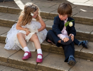 Wedding, bridesmaid, pageboy, Debbie Lias, photography