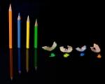 crayons, colours, debbie lias, photography