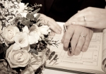 Wedding, bouquet, i do, register, wedding rings, debbie lias, photography