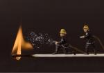 small world, model fireman, debbie lias, photography