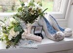 wedding, shoes, rings, bouquet, wedding flowers, something blue, debbie lias, photography