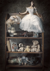 small world, vintage toys, debbie lias, photography