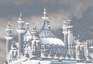 Brighton Pavilion, Icy, artistic, Debbie Lias, photography