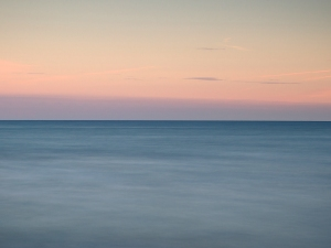 sunset, sea, Brighton, long exposure, Debbie Lias, photography