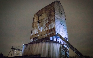 windmill, light painting, long exposure, debbie lias, photography